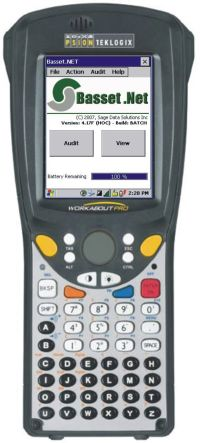 Handheld computer - Workabout Pro with barcode reader